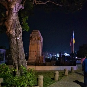 The Cenotaph - in memory of the fallen. (photo credit : Shah Said ; @ all rights reserved)