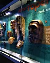 Masks of the Orang Asli. (photo credit : Shah Said ; @ all rights reserved)