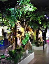 Exhibits of The Orang Asli Museum. (photo credit : Shah Said ; @ all rights reserved)