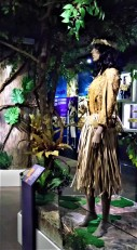 Ceremonial dress of the Orang Asli, used during certain occasions. (photo credit : Shah Said ; @ all rights reserved)