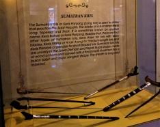 The Sumatran Keris - Exhibit from The Sultan Alam Shah Museum, Shah Alam, Selangor. (photo credit : Shah Said ; @ all rights reserved)