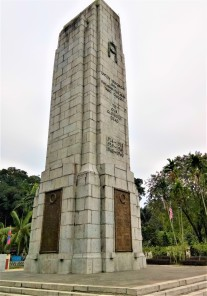The Cenotaph, with the inscription 'To Our Glorious Dead'. (photo credit : Shah Said ; @ all rights reserved)