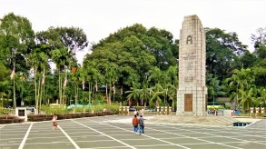 Square at The Cenotaph. (photo credit : Shah Said ; @ all rights reserved)