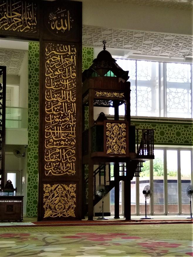 The Pulpit of Raja Haji Fisabillah