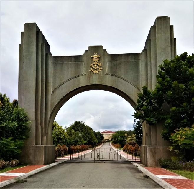 Archway to The Istana Besar, Johor Bahru