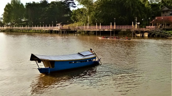 The River Taxi of Kuching