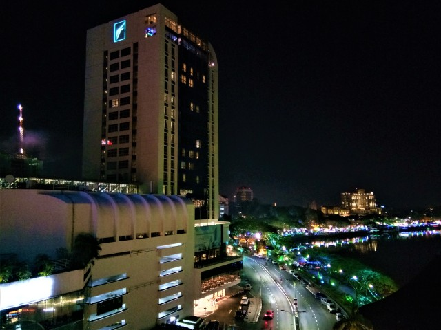 A Room With A View - The Kuching Waterfront