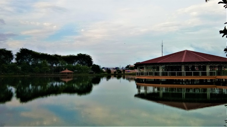 A panoramic view of Tasik Danu. (photo credit : Shah Said ; @ all rights reserved)