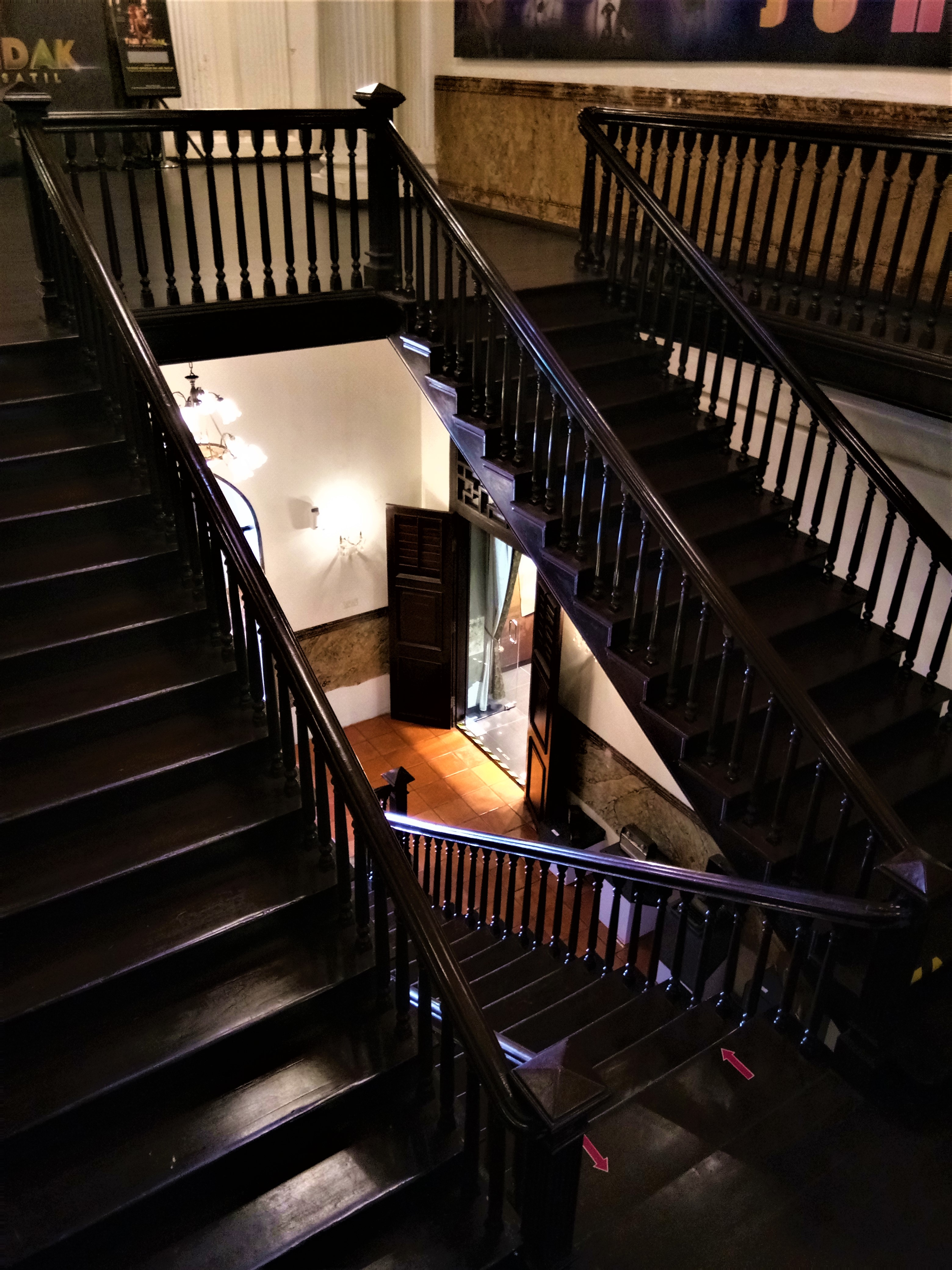 Staircase In A Mansion