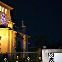 JB At Night : The Sultan Ibrahim Building