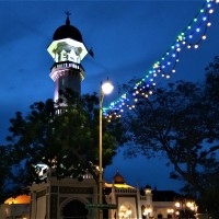 As Dusk Beckons - The Kapitan Keling Mosque, Penang