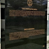 A Picture Story : The Birch Memorial, Ipoh